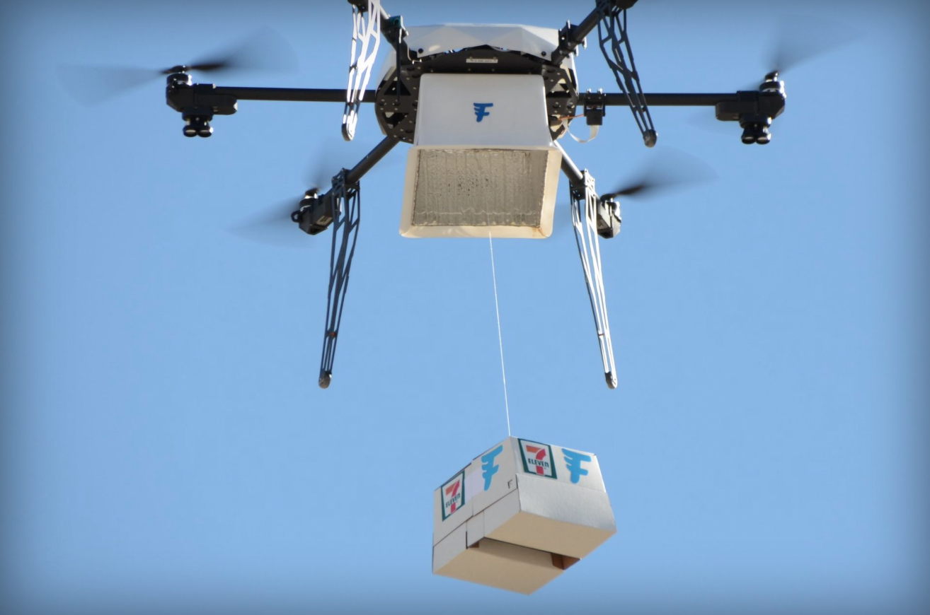 7-Eleven just made the first commercial delivery by drone