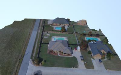 3D Model Drone Footage
