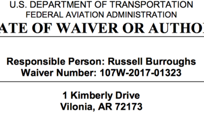 Good News, FAA approved my night time flying waiver.