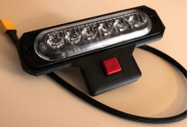 Matrice 210 with light bar flasher.